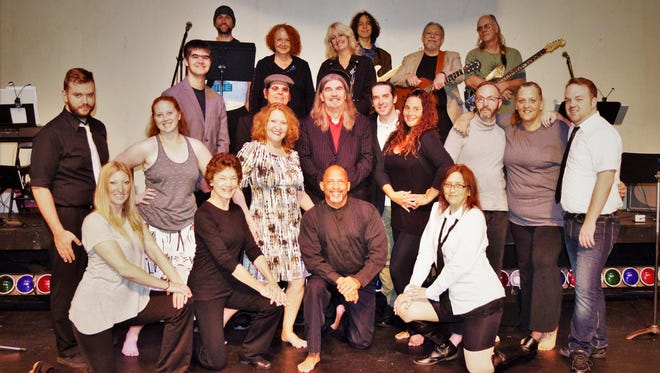 The EPAC Rock Project cast, which is made up of the band musicians and Dance Stories.