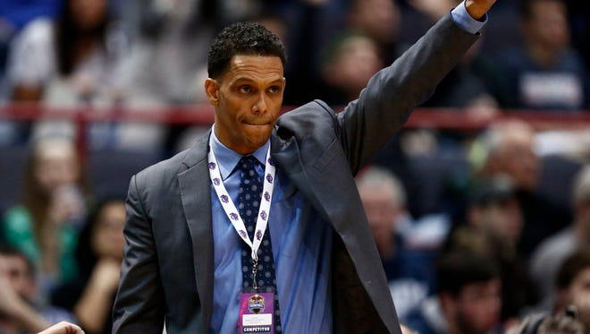 Monmouth coach King Rice thinks the Hawks deserve a chance to play in the NCAA Tournament, even after Monday night's loss to Iona.