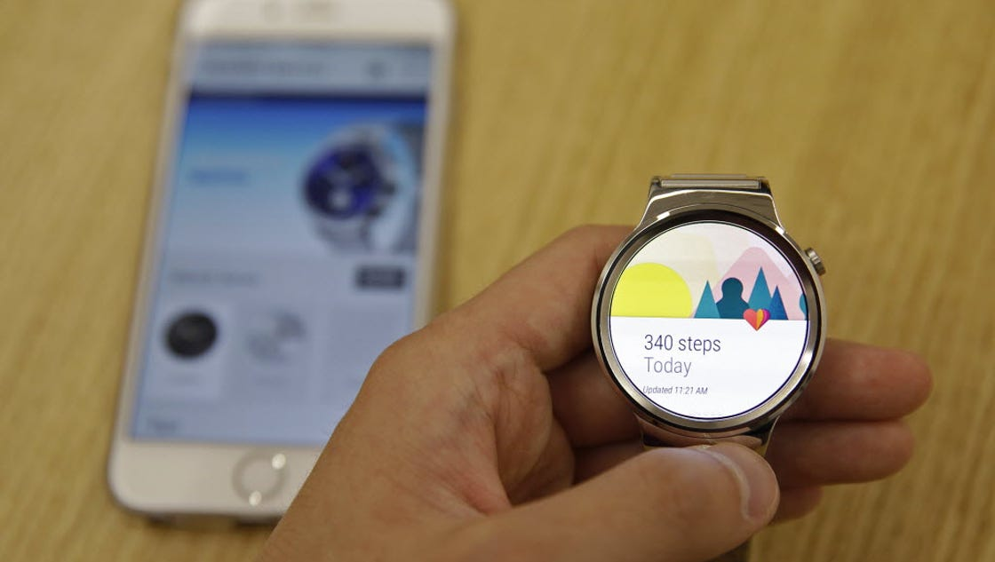 Google app connects Android smartwatch to iPhone