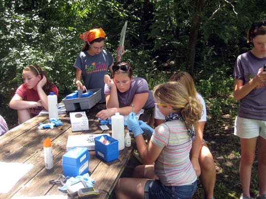 SciGirls, a hands-on summer camp for girls who dig