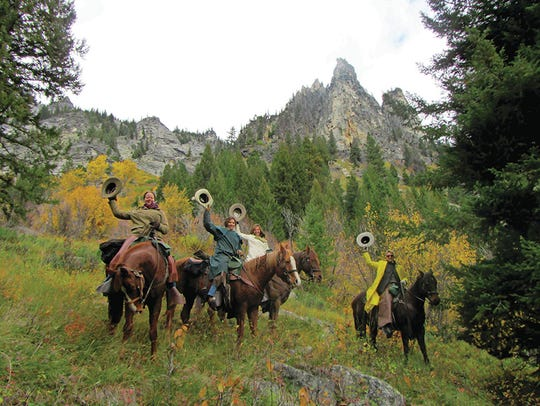 Triple Creek Ranch in Montana offers horseback riding