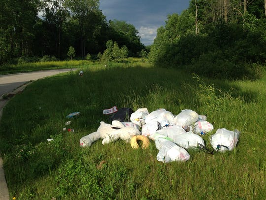 Mansfield police have made two arrests for recent illegal dumping on Brushwood Drive. Cameras placed in the vicinity aided police.