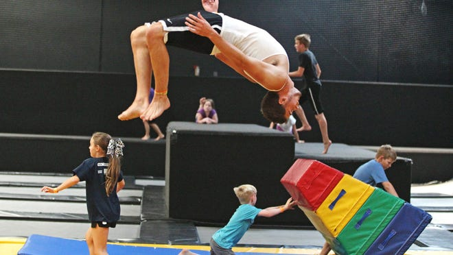 Trampoline park injuries have soared as the indoor jumping trend has spread, according to a study published Monday that shows annual U.S. emergency room visits jumped 12-fold for park-related injuries from 2010 through 2014.