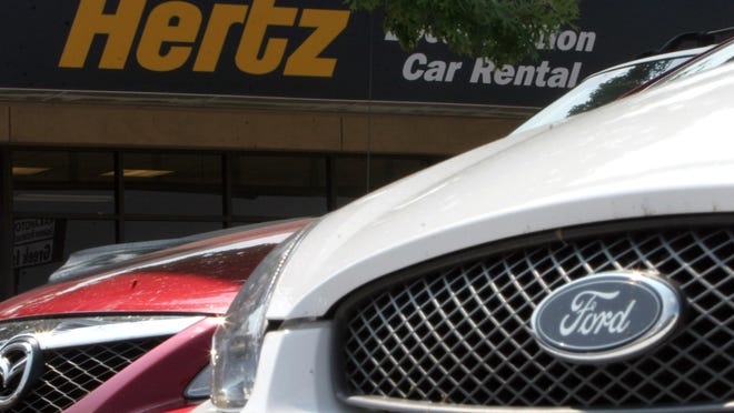 Deliveries to rental-car companies and other non-retail buyers accounted for more than a third of total sales last month for Ford Motor Co. and Nissan Motor Co., according to data from researcher Cox Automotive.