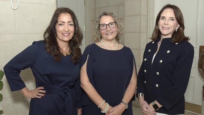 Luz Mery Montes, Mary Hart and Anita Gabler