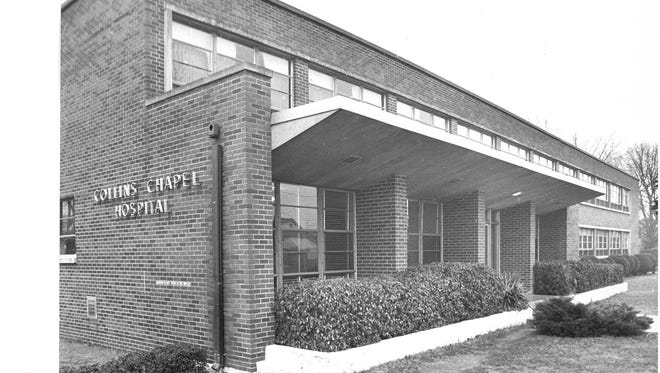 Collins Chapel Hospital in 1971.