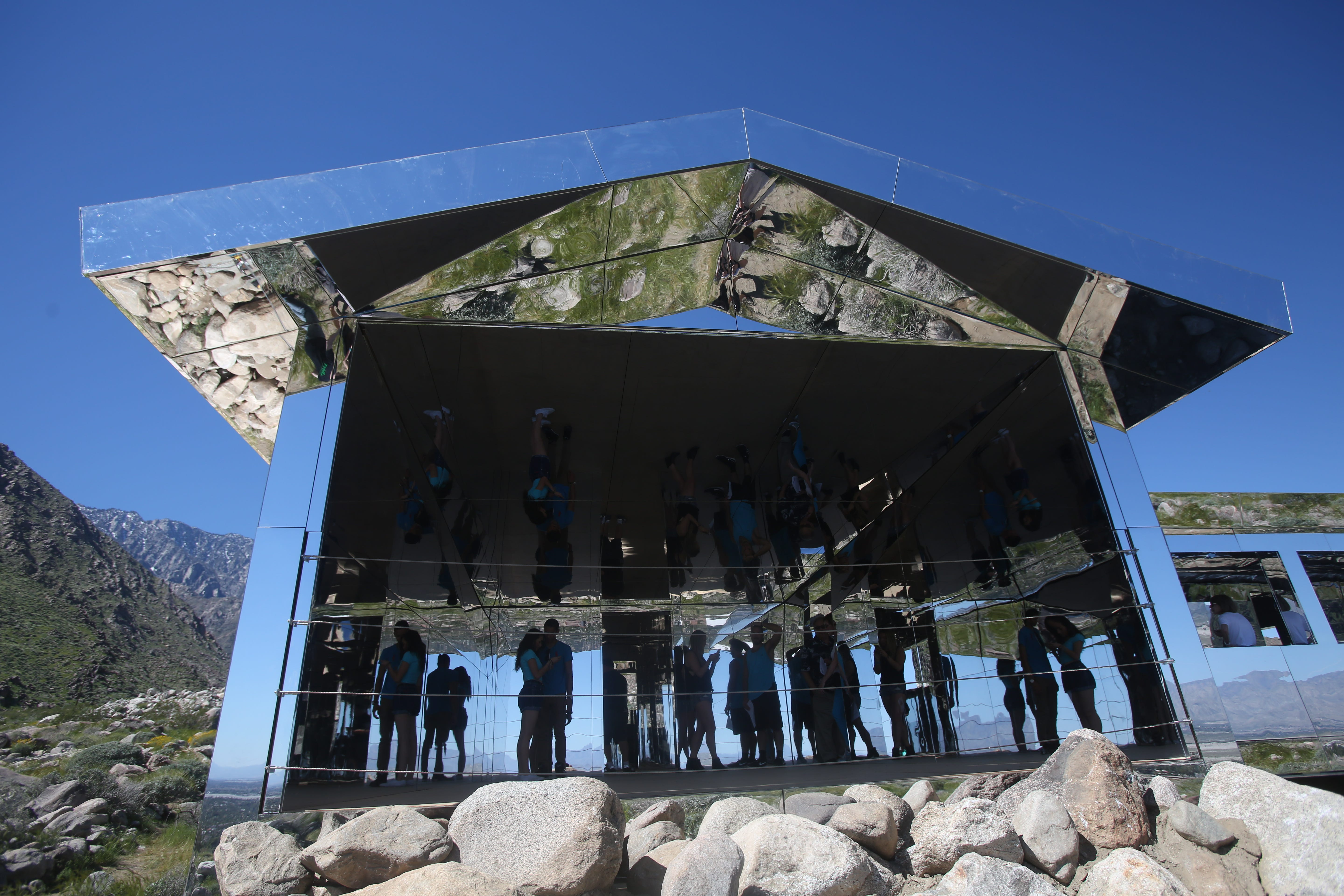 here s why desert x mirror house in palm springs will be torn down rh desertsun com mirror house palm springs adress mirror house palm springs closed