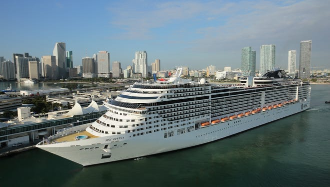 The MSC Divina will redeploy to Port Canaveral next spring.