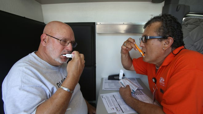 Leaders said Thursday that more than 20,000 HIV tests were conducted and the number of community testing sites increased 52 percent locally during the first year of the $5 million Get Tested Coachella Valley campaign, a three-year effort to completely end the HIV epidemic locally by routinizing testing.