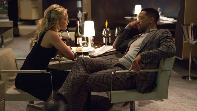 'Focus,' starring Will Smith and Margot Robbie, was No. 1 at the box office.