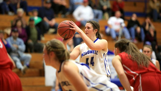 Riley Smith and the McDowell girls have reached the third round of the NCHSAA 4-A basketball playoffs.