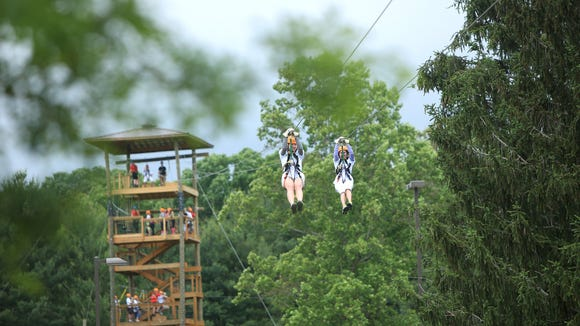Asheville Zipline Canopy Tours has teamed up with Asheville GreenWorks for Green Adventure Day.