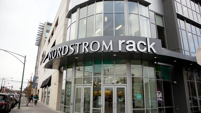 A Nordstrom Rack store in Chicago.