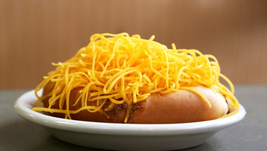 cheesy coney from Skyline