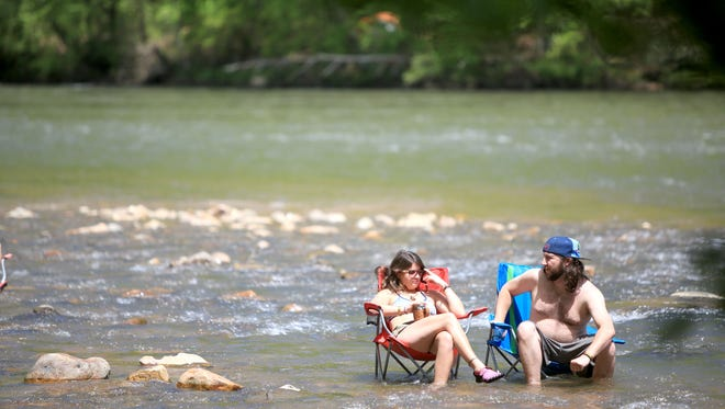 The Asheville area has been recognized as a top spot for spring breakers.