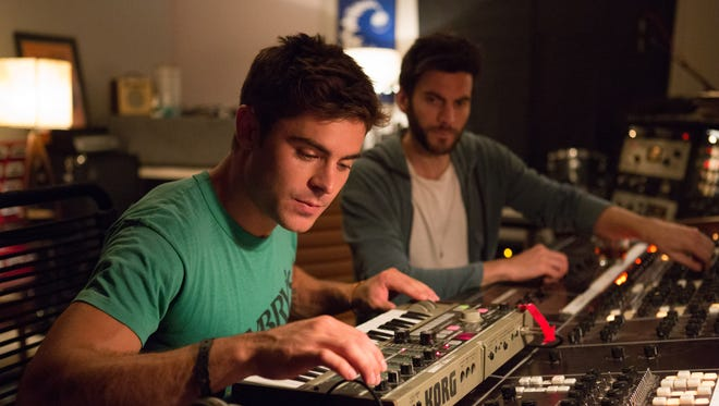 Cole (Zac Efron, left) is mentored by James (Wes Bentley) in 'We Are Your Friends.'