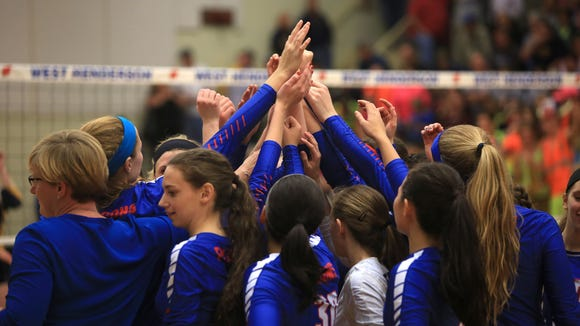 South Iredell and West Henderson met in Tuesday night's 3-A Western Regional championship match.
