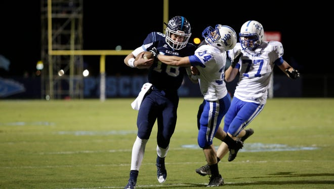 Ascension Episcopal takes on St. Fredrick on Friday night. John Rowland/Special to the Advertiser