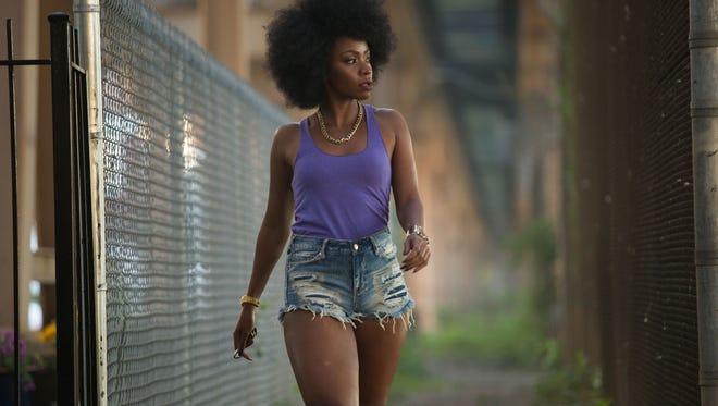 Lysistrata (Teyonah Parris) starts a sex strike to end gun violence in Spike Lee's 'Chi-Raq.'