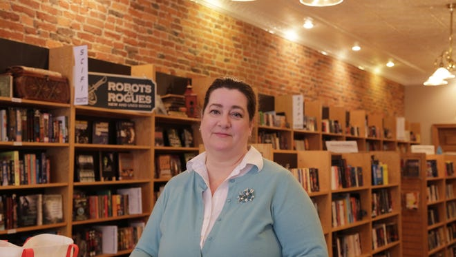 Tamzin Malone is the owner of Main Street Books, one of the local businesses that joined a statewide coalition that is pushing for LGBT rights.