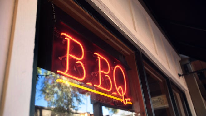 Smoketree BBQ in Palm Springs.