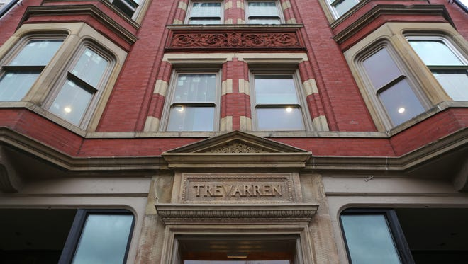 The Trevarren building is a historic Walnut Hills building that has been redeveloped into apartments.