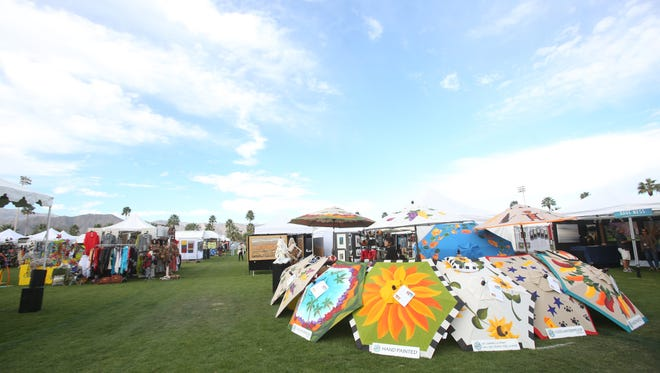 The colorful Southwest Arts Festival runs through Sunday at the Empire Polo Club in Indio. The Southwest Arts Festival made its 2015 debut on January 23, at the Empire Polo Grounds.