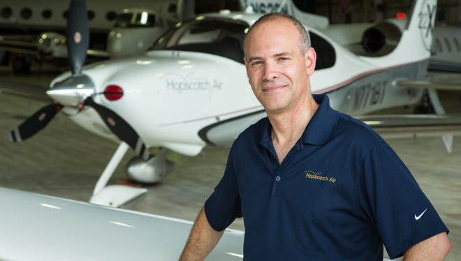 Andrew Schmertz, CEO of Hopscotch Air, has seen enough demand in Westchester to add two planes to the fleet and base them primarily out of the county airport.