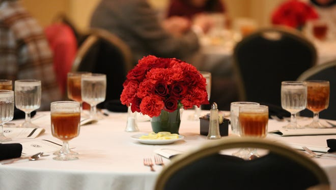 The Exchange Club's 2016 Man of the Year event was held Tuesday evening at the Doubletree Hotel.