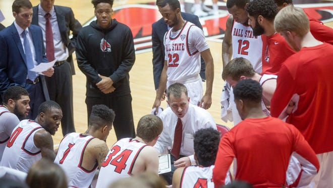 Ball State was ousted from the MAC Tourney after a 49-47 loss against Miami on Monday at Worthen Arena.