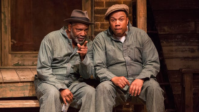 David Alan Anderson and Marcus Naylor in IRT's 2016 production of Fences.
