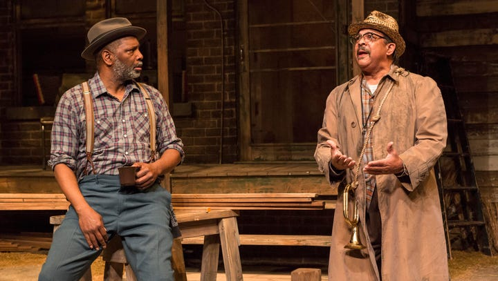 A battered, lumbering everyman in 'Fences' at the IRT