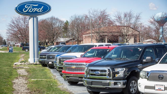 The McCrocklin Ford Auto Farm in Middletown is one of several dealerships owned by the chain that will be building a new facility in Daleville this year directly next to Sam Pierce Chevrolet. The nearly $4 million dollar dealership won't replace the companies Middletown operation.