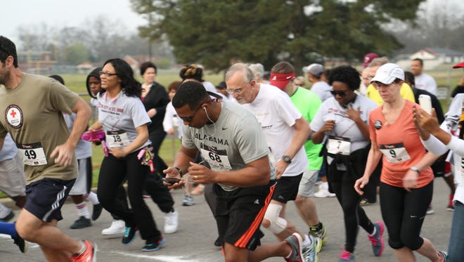 St. Jude 5K takes runners and walkers along the final leg of the historic Selma to Montgomery Voting Rights March.