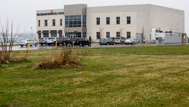 Baker College is pursuing plans to expand its dorms for the Culinary Institute of Michigan on land it purchased along St. Clair Street north of Mansfield Street.