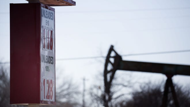 Oil prices could experience a shock in 2016, which would cause problems at the pump.