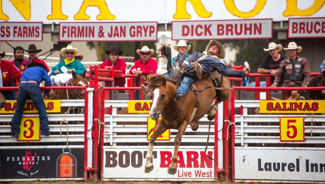 Will Love at California Rodeo Salinas