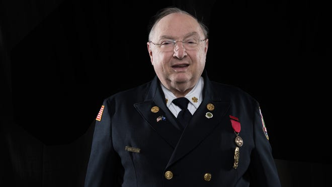 Williamston fire chief Steve Ellison is a finalist for Liberty Mutual Insurance's National Firemark Award.