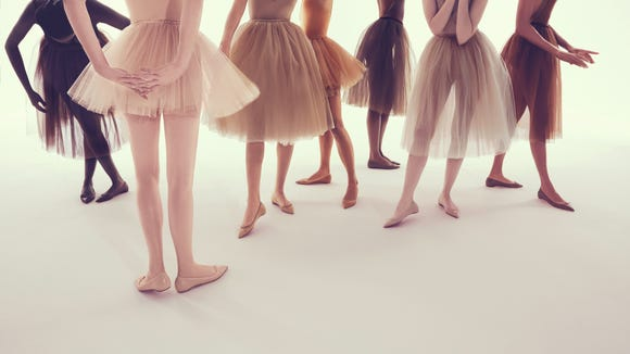 The new nudes come in Parisian-style ballet flats.