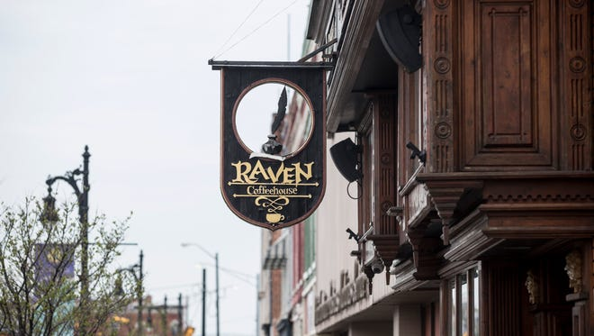 The Raven Cafe is in the process of applying to the new Gerry Kramer Spartan Façade Improvement Matching Grant, which would provide up to $5,000 to fund 50 percent of the cost of a façade project. The cafe hopes to replace a raven sculpture on the front sign, as well as install awnings over windows.
