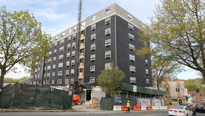 The Modern at 130 Mount Vernon Avenue in Mount Vernon is under construction, April 28, 2016.