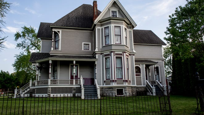"""The Ballentine house at the corner of Court and Seventh streets in Port Huron will be featured in the film """"Rude and Wonderful Things."""""""