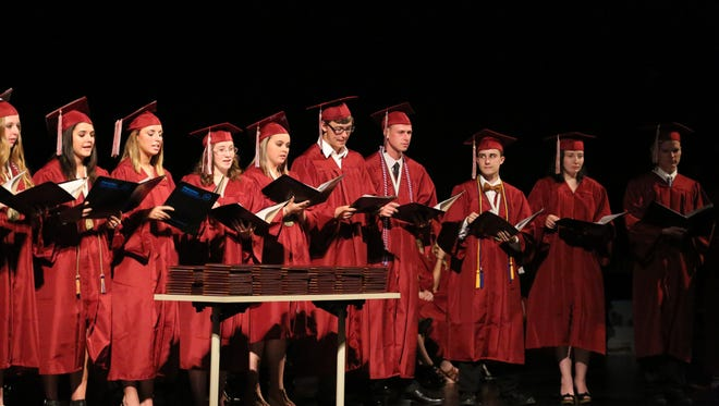 Shippensburg Area Senior High School graduated 235 students of the Class of 2016 on Thursday, May 27,  at Luhrs Center at Shippensburg University.