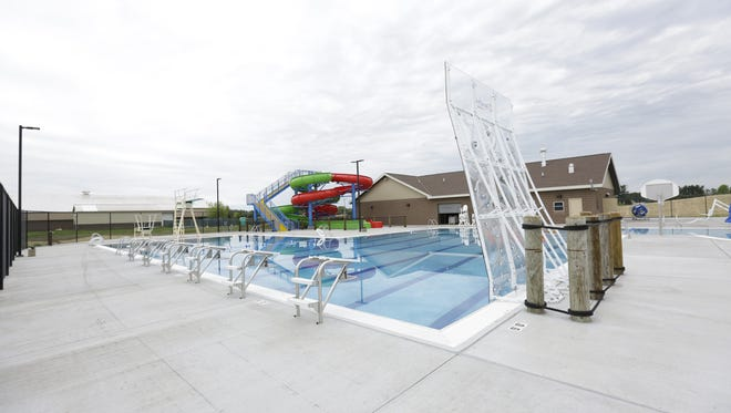 Take a first look at the Merrill Parks and Recreation Department's work on the Bierman Family Aquatic Center near the Merrill Area Recreation Complex. The newly built pool is scheduled to open June 10.