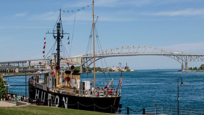 The Huron Lightship at Pine Grove Park will have discounted admission as part of Be a Tourist in Your Own Town day this Saturday.