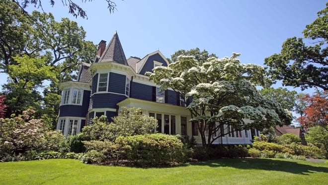A 1911 Victorian-style house that one belonged to Red Sox owner Harry H. Frazee at 59 Edgewood Ave in Larchmont June 9, 2016.