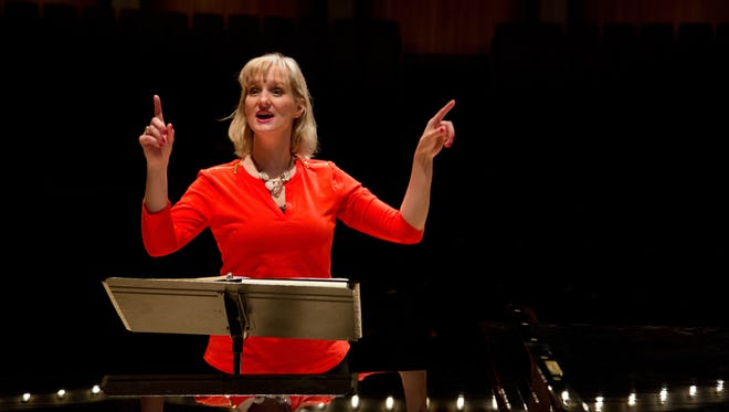 New UWSP professor Cat Wilson has inspired  students through a love for music.