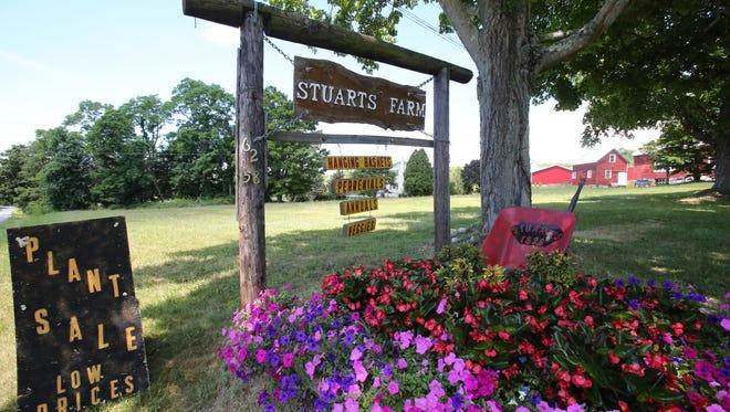The 172-acre Stuart's Fruit Farm in Somers.