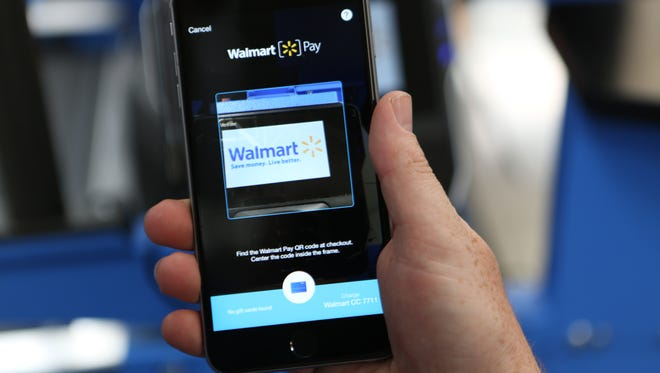 The ability to use Walmart Pay, the retailer's in-app mobile wallet, is now available in all U.S. stores.