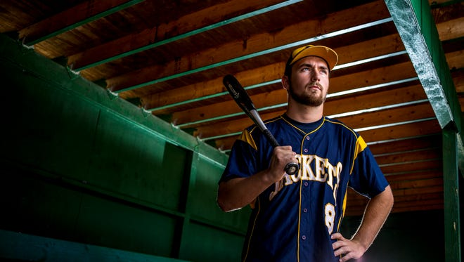 Memphis High School senior Aaron Gillespie is the Time Herald Baseball Player of the Year.